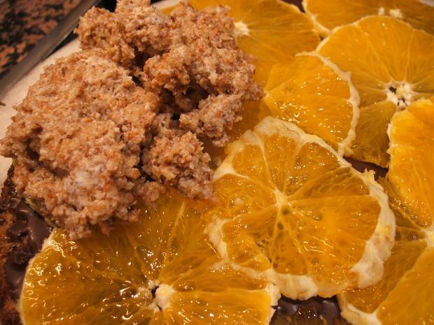 Backen: Schoko-Orangen-Torte - Rezept - Bild Nr. 2224