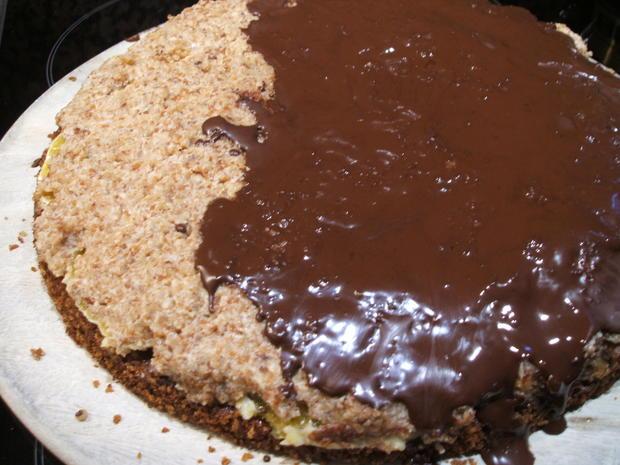 Backen: Schoko-Orangen-Torte - Rezept - Bild Nr. 2225