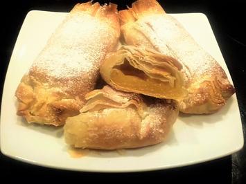 Süße Pastete mit Eiercreme - Rezept - Bild Nr. 2220