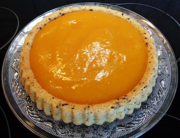 Kleine Mango - Schokoladen - Torte - Rezept - Bild Nr. 2259