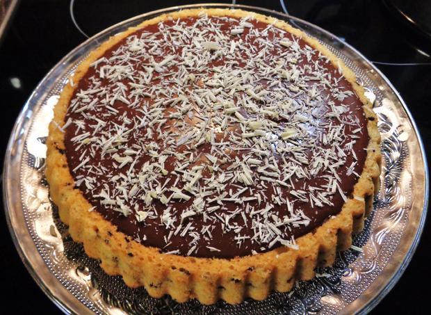 Kleine Mango - Schokoladen - Torte - Rezept - Bild Nr. 2262