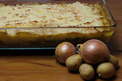 Rindfleisch-Kartoffelbrei-Pie - Rezept - Bild Nr. 2296