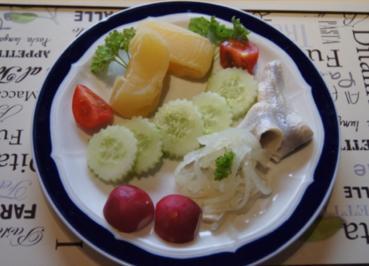 Rezept: Ein leckeres und kalorienarmes Abendbrot