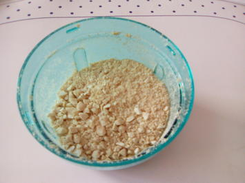 Rezept: Erdnuss-Parmesan (vegan)
