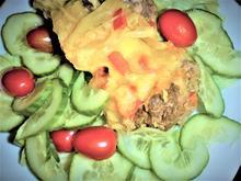 Falscher Hase, gebettet auf frischem Salat  á la Britta - Rezept - Bild Nr. 2351
