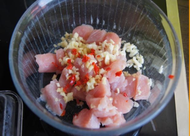 Putengulasch im Wok mit Curry-Blumenkohl-Reis - Rezept - Bild Nr. 2353