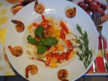 Asiatischer Salat mit Party Crevetten - Rezept - Bild Nr. 2366