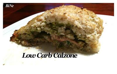 Rezept: BiNe` S LOW CARB CALZONE
