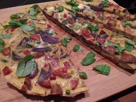 Pilz-Chorizo-Frittata - Rezept - Bild Nr. 2366