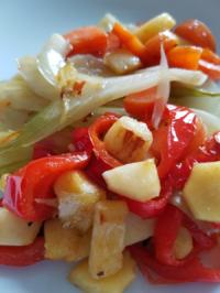 Gemüsepfanne Spicy - Rezept - Bild Nr. 2368