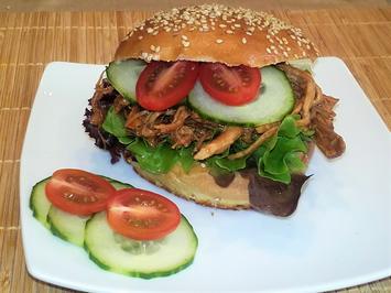 Burger Brötchen - Burger Buns - Rezept - Bild Nr. 2378