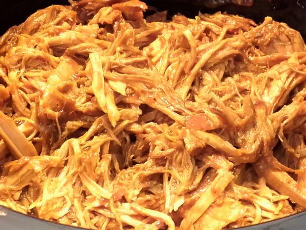 Pulled Pork aus dem Slow-Cooker/ Crockpot - Rezept - Bild Nr. 2387
