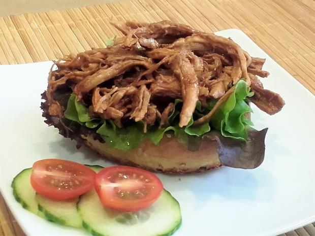 Pulled Pork aus dem Slow-Cooker/ Crockpot - Rezept - Bild Nr. 2388