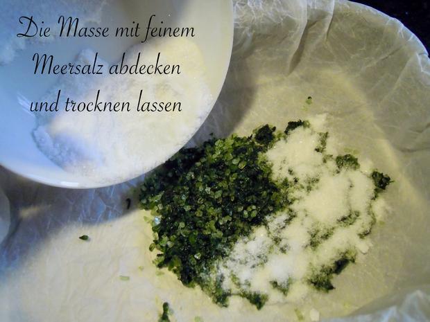 Bärlauch Salz - Rezept - Bild Nr. 2381