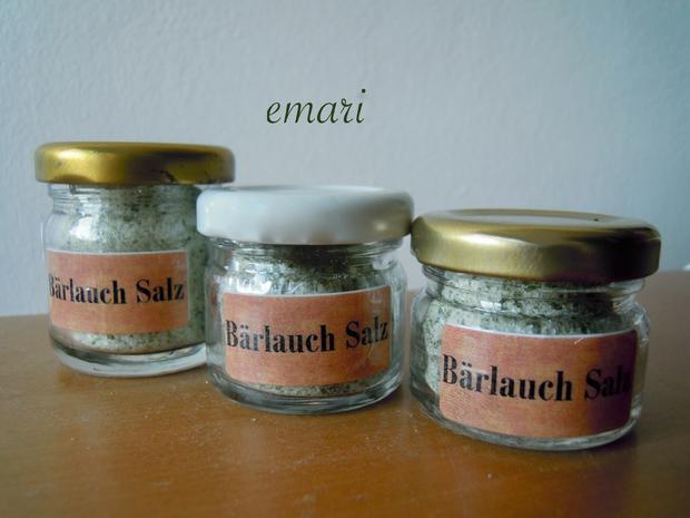 Bärlauch Salz - Rezept - Bild Nr. 2386