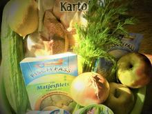 Matjes, in süß- saurer Sahne eingelegt,nach Hausfrauen Art a la Britta - Rezept - Bild Nr. 2383