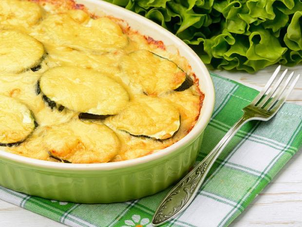 Zucchini-Hackfleisch-Auflauf für Eilige - Rezept - Bild Nr. 2383