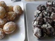 """Crinkle-Cookies"" in Ostereier-Optik und gefüllt - Rezept - Bild Nr. 2389"