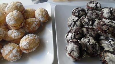 """Rezept: """"Crinkle-Cookies"""" in Ostereier-Optik und gefüllt"""