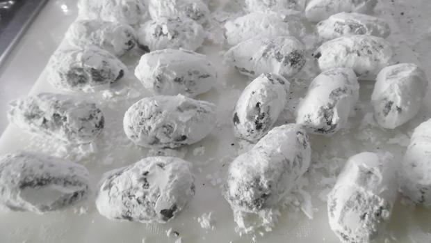 """Crinkle-Cookies"" in Ostereier-Optik und gefüllt - Rezept - Bild Nr. 2394"