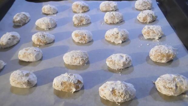 """Crinkle-Cookies"" in Ostereier-Optik und gefüllt - Rezept - Bild Nr. 2400"
