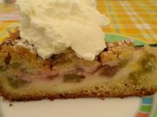 Rhabarber - Streuselkuchen - Rezept - Bild Nr. 2