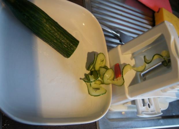 Thailändischer Gurkensalat mit Garnelen - Rezept - Bild Nr. 2433