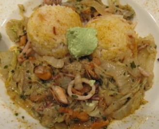 Fisch / Meeresfrüchte = Meeresfrüchteeintopf à la Biggi - Rezept - Bild Nr. 2449
