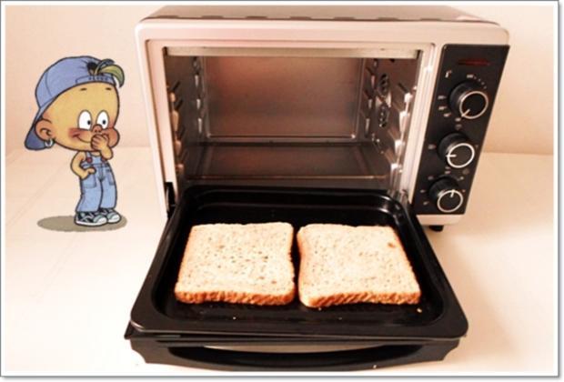 Glücksbringer – Golden Toast mit Eisbergsalat, Eiern und Marienkäfer - Rezept - Bild Nr. 2449