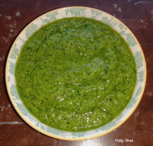 einfaches Bärlauch-Pesto - Rezept - Bild Nr. 2449