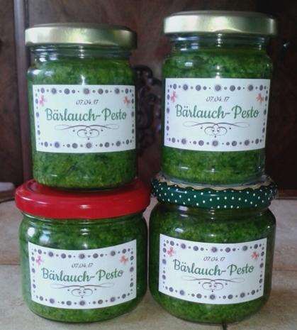 einfaches Bärlauch-Pesto - Rezept - Bild Nr. 2450