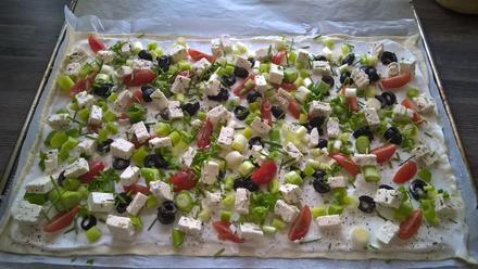 vegetarischer Flammkuchen - Rezept - Bild Nr. 2449