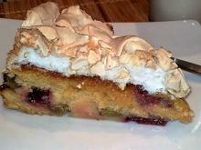 Erdbeer- Rhabarber- Kuchen mit Baiser - Rezept - Bild Nr. 2467