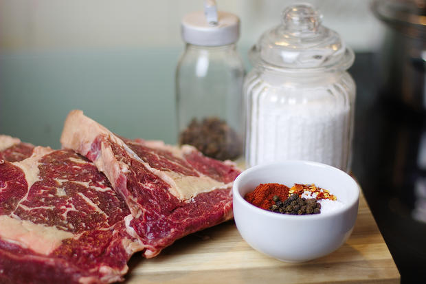 Rip-Eye-Steak mit Espressomarinade - Rezept - Bild Nr. 2500