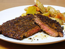 Rip-Eye-Steak mit Espressomarinade - Rezept - Bild Nr. 2503
