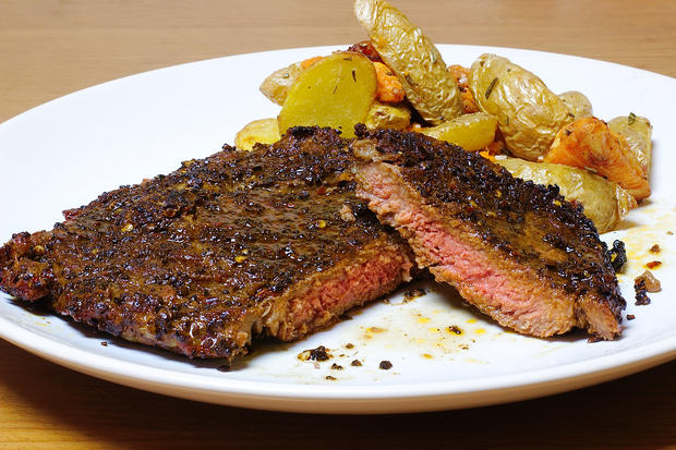 Rip-Eye-Steak mit Espressomarinade - Rezept - Bild Nr. 2503