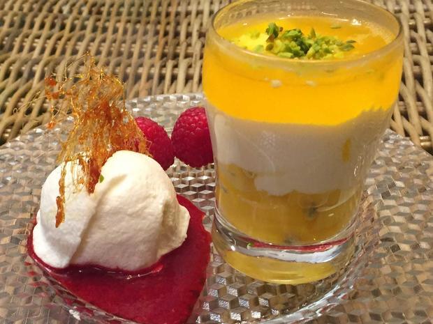 Dessertvariationen mit Joghurt und Quark mit verschiedenen Früchten - Rezept - Bild Nr. 2