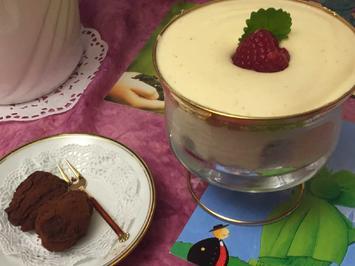 Tiramisu aux framboises - Himmlische Himbeer-Speise und Truffes au chocolat - Rezept - Bild Nr. 2508