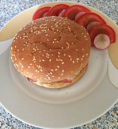 Rezept: Wiener Cheese Burger