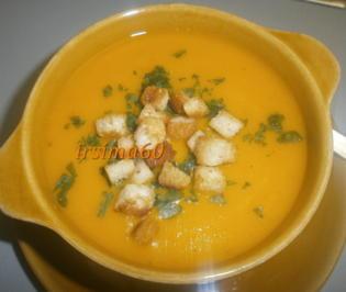 Rezept: Kürbis-Möhren-Suppe