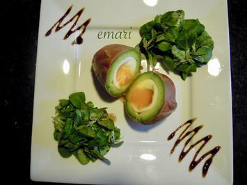 Weiches Ei im Avocado Speck Mantel - Rezept - Bild Nr. 2529