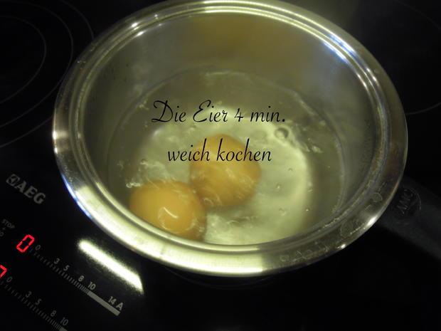 Weiches Ei im Avocado Speck Mantel - Rezept - Bild Nr. 2530