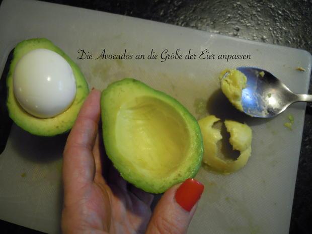 Weiches Ei im Avocado Speck Mantel - Rezept - Bild Nr. 2533