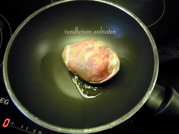 Weiches Ei im Avocado Speck Mantel - Rezept - Bild Nr. 2536