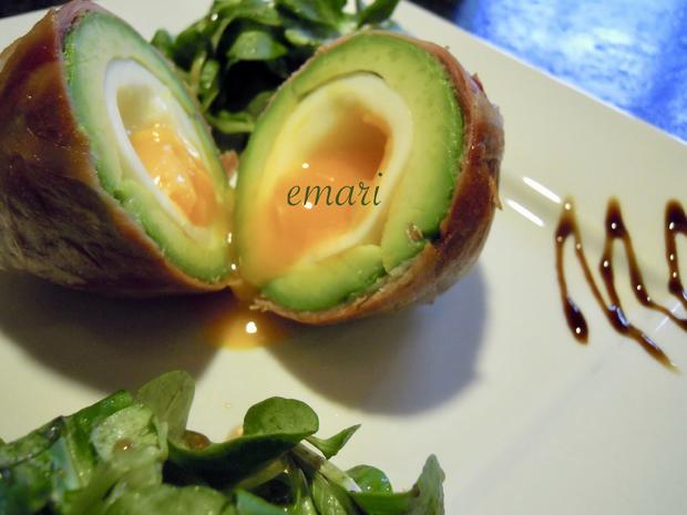 Weiches Ei im Avocado Speck Mantel - Rezept - Bild Nr. 2537