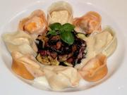 Selbstgemachte Tortellini mit Parmesan- Sauce - Rezept - Bild Nr. 2530