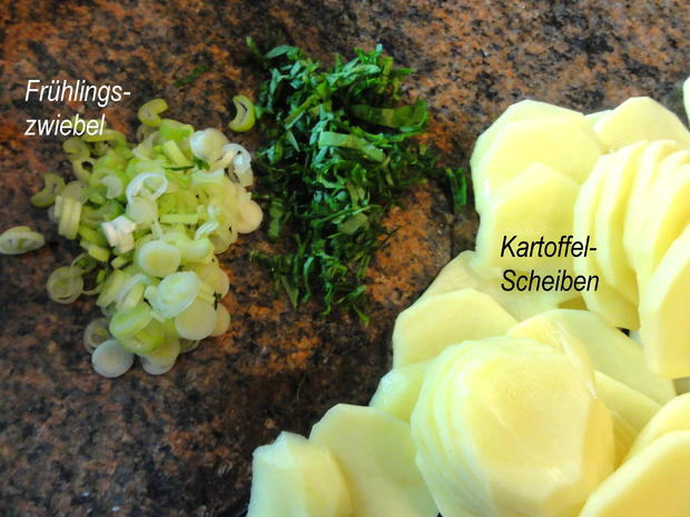 Kartoffel:   KARTOFFEL  - GRATIN mit Sahne - Rezept - Bild Nr. 2567