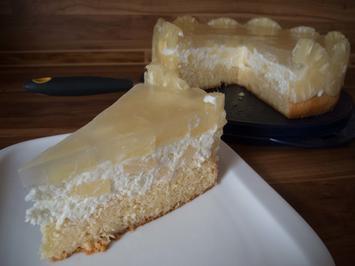 Rezept: Kuchen: Ananastorte