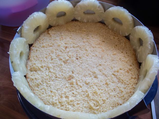 Kuchen: Ananastorte - Rezept - Bild Nr. 2654