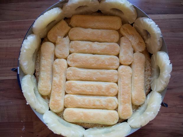 Kuchen: Ananastorte - Rezept - Bild Nr. 2656